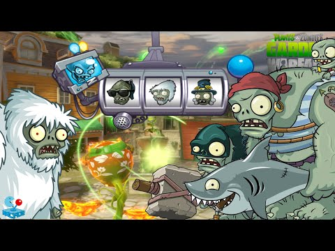 Plants Vs. Zombies: Garden Warfare - Fire Peashooter vs Yeti Gargantuar Vampire Boss