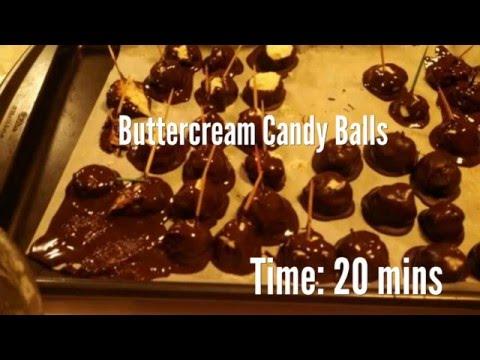Buttercream Candy Balls Recipe