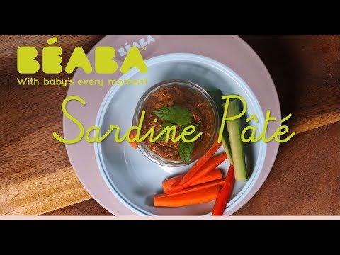 Beaba Babycook Recipe - Sardine Paté - Direct2Mum