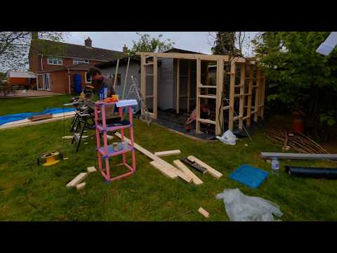 Building a shed/garden room