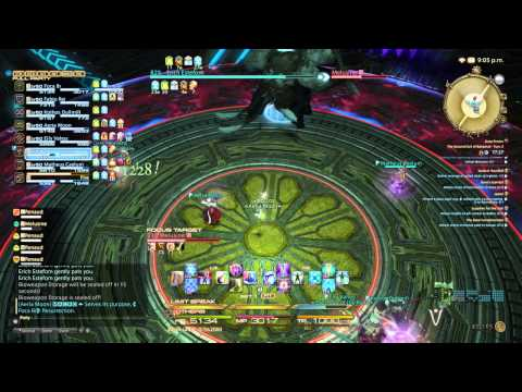 Final Fantasy XIV (The Second Coil of Bahamut - Turn 2) Healer PoV