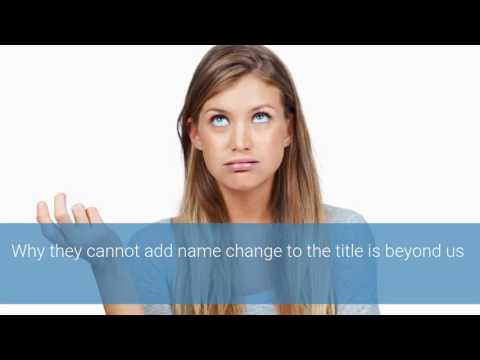Married Name Change & the IRS 8822 Form
