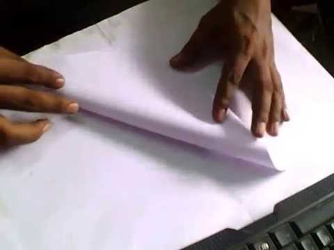 HOW TO MAKE PAPER FLIGHT