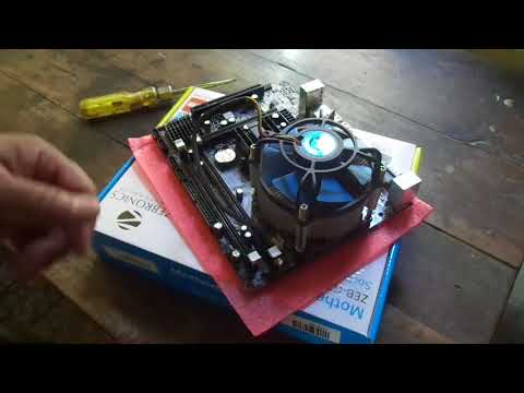installing zebronics g31 motherboard