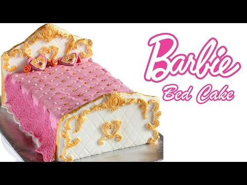 Barbie Bed Cake