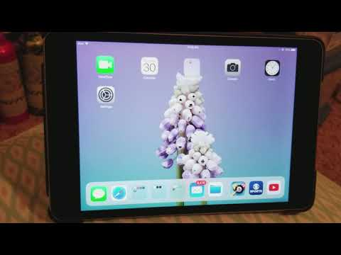 Apple Mini ipad 4 glitch screen rotation glitch after 11.1.2 update