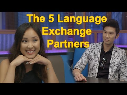 The 5 Language Exchange Partners You WILL Meet! | Learn Chinese Now feat. Hello Talk