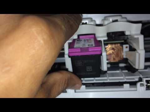 How to Install  and Replace Ink Cartridge in HP DeskJet Advantage 2135 All in One printer