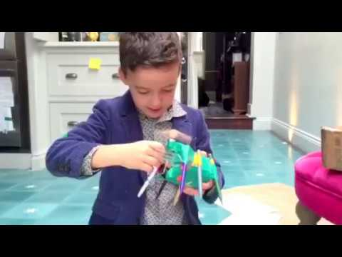 Jacob builds his own robot that draws
