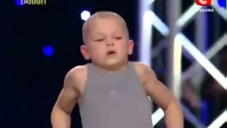 Sergej Evplov: Ukraine talent show, amazing 7yo kid