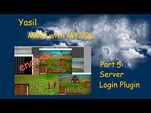 #2.1 Unity 5 Tutorial MMO First Server Plugin