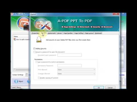 PowerPoint to PDF Converter - Batch Convert Microsoft PPTs to PDFs