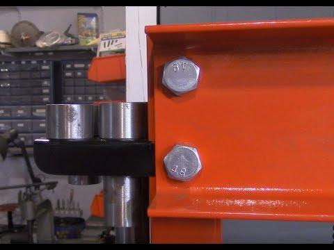 20 Ton Shop Press Enhancements