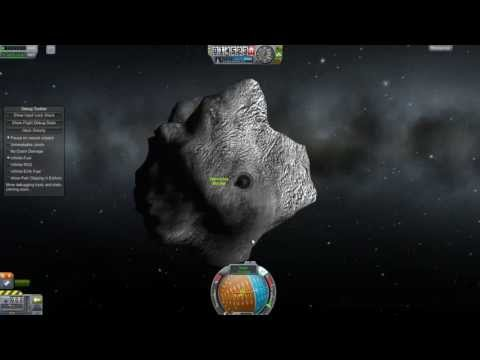 Kerbal Space Program - How To Make A Killer Asteroid