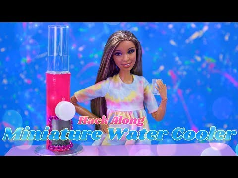 Hack Along - How to Make: Doll Water Cooler | GoldieBlox Collaboration Ep. 3 of 7