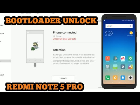 redmi note 5 pro bootloader unlock error solved  how to unlock the bootloader on redmi note 5 pro 
