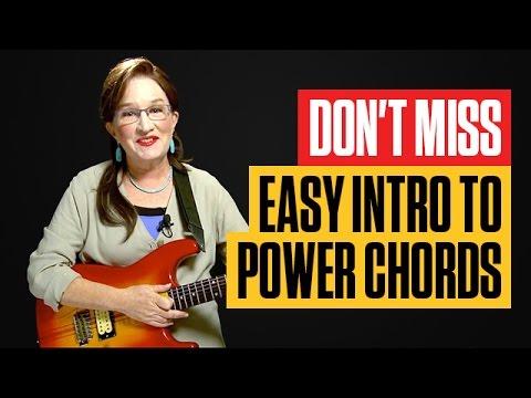 How to Play Guitar Power Chords Easy | Beginner Guitar Lessons | Guitar Tricks