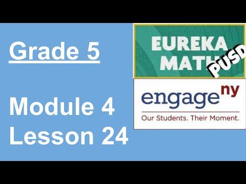 Eureka Math Grade 5 Module 4 Lesson 24