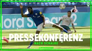 FC Schalke 04 - SV Werder Bremen 0:1 | Pressekonferenz | WERDER.TV