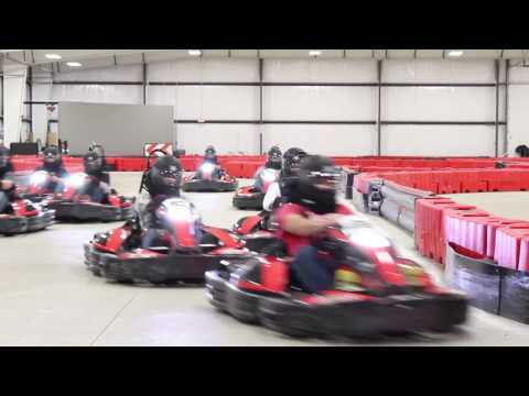 INDOOR GO KART RACING at BOSS Pro Karting - Cleveland, OH