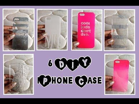 DIY: 6 IPHONE CASES ☯