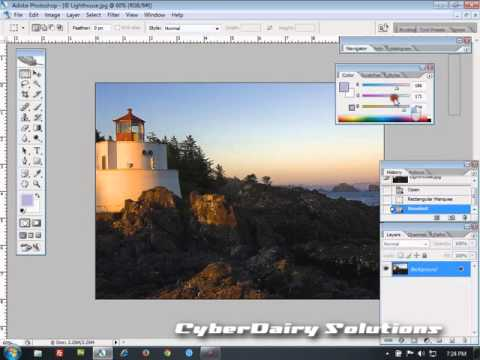 Adobe Photoshop CS3 Tutorial  : Using Palletes [Hindi]