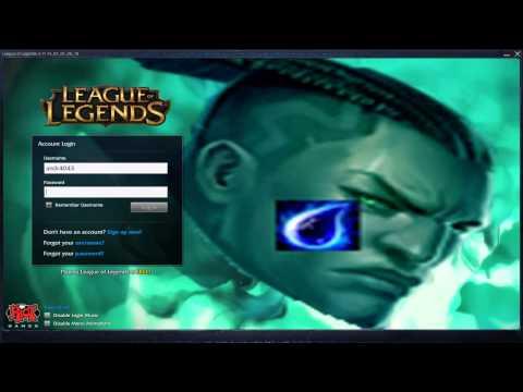 Lucian Nerf - Custom Login Screen League of Legends