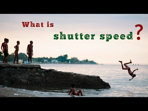 What is shutter speed? Photography tutorial for DSLR beginners