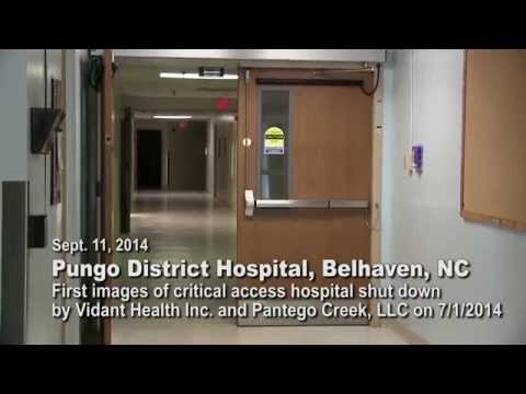 Tour of Closed Belhaven Hospital Disproves Claims that Building is in Disrepair