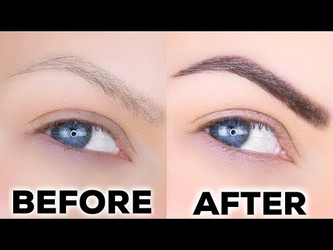 HOW TO TINT YOUR EYEBROWS AT HOME!! | CHEAP, FAST & SIMPLE!!!