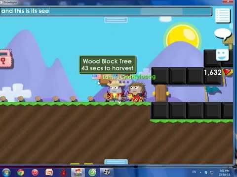 Growtopia Ep.2 : Making Wood Block Seed