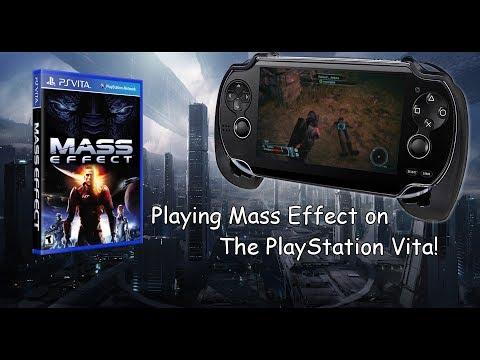 Mass Effect Moonlight 0.3.2 Streamed to PlayStation Vita Wifi Test 2