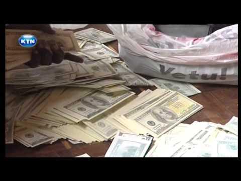 Fake money heist