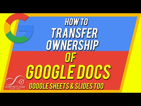 How to Move Google Docs From One Account to Another