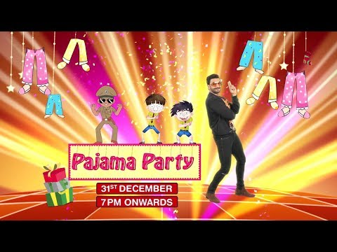 Pajama Party with Discovery Kids   31st Dec 7pm onwards
