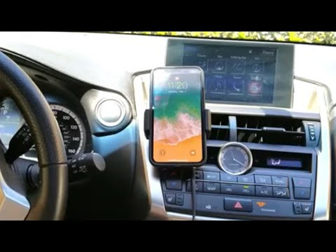 Magqi Wireless Qi Car Vent Mount Phone Charger Review- This is Super Cool!