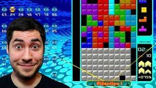 Mon premier TOP 1 sur Tetris 99 BATLLE ROYALE ?