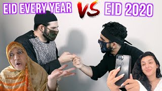 CELEBRATING EID EVERY YEAR VS 2020! *Weirdest Eid Yet*