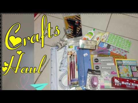 Crafts Haul: April 2017- NBS|SM Supplies|Online Shop (Philippines)