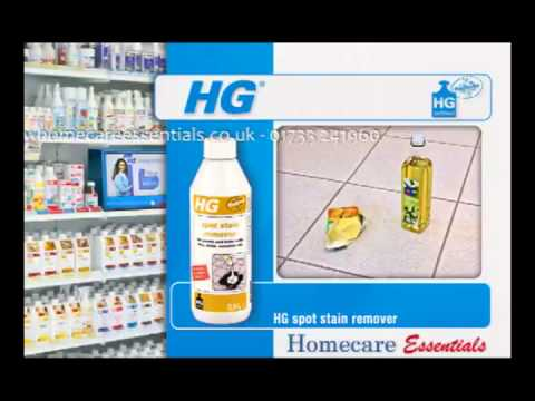 HG Hagesan Spot Stain Remover  Removes grease, fat and oil stains