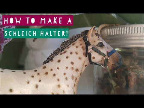 How To Make a Schleich Halter! || Daisy Stalls ||