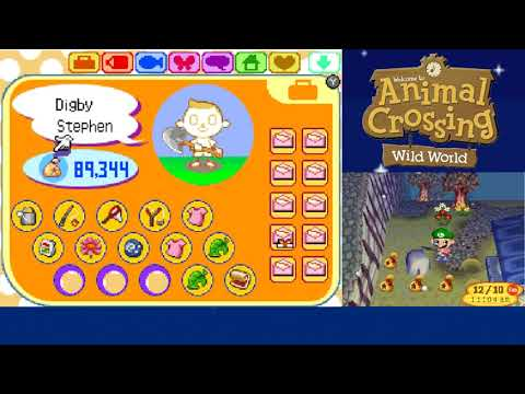 Let's Play Animal Crossing Wild World Day 39