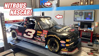 We Fed NITROUS To Our LS7 Powered NASCAR Truck!! (It Freaking LOVED IT)