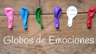 Globos de las emociones | Juegos educativos para niños