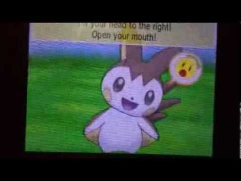 Shiny Emolga Pokemon X and Y