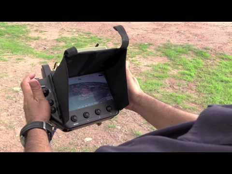 UAV drone radio control in the military