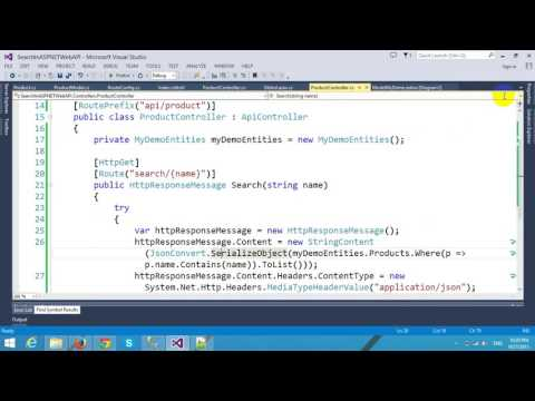 Searching Data in ASP.NET Web API and Entity Framework