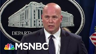Download Matthew Whitaker Wilts Addressing Special Counsel Question To Press | Rachel Maddow | MSNBC Video