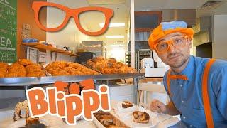 Learning Food For Children With Blippi | Blippi Bakery | Educational Videos For Kids
