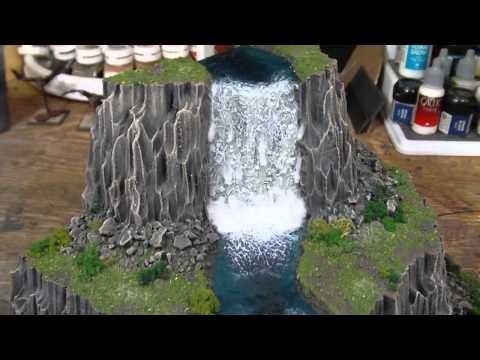 TerranScapes - Recent Waterfall - Warhammer Warmachine D&D LOTR